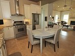open kitchen- very spacious for family
