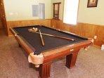 1st Floor Pool Table