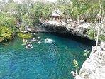 nearby cenote