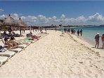 Beach at Bahia Principe free to our renters