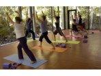 yoga at wellness center