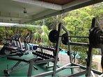 gym at wellness center