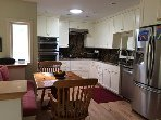 Newly renovated kitchen with Thermador gas cooktop