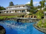 Hawaiian Style Estate Surrounded by 5 Acres