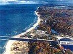 LAKE MICHIGAN Private Dune Beach house