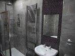 Family Bathroom, Bath, Power Shower and underfloor heating