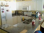 Fully loaded kitchen with granite countertops