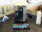 2 different coffee makers for your convenience