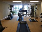 Fitness Center located on 3rd floor of C Building