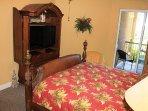 Master Bedroom w/ Flat Screen TV