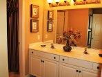 Master Bathroom w/ Double Sinks