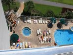 View of Pool from 812A
