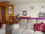 Spacious, warm and comfortable for all year round holiday lets as well as being an elegant and light