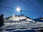 You can't get any closer to the action - STEPS AWAY from the Basin slopes!!