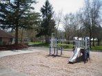 Nice kids jungle gym and the park
