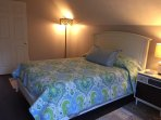 Upstairs BR with Queen size bed & large walk-in closet