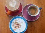 Loads of great cafes for coffee