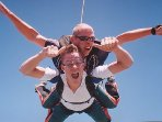 Skydiving is a buzz - give it a try!