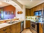 Fully Equipped Kitchen with Heated Floors