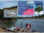 sci d'acqua (Wakeboard) sul Lago Apremont