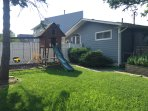 Front Yard w/ Swing Set