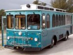 FREE TROLLEY 1 BLOCK STOP GO NORTH-3 BLOCKS STOP GO SOUTH-6am-10:30pm/20 MINUTES