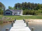 Cedar Point Chesapeake Bay Waterfront Cottage