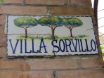 you have arrived at Villa Sorvillo