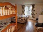 bedroom 4 sleeps 4 with pine bedroom furniture