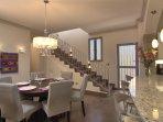 Lovely open floor plan (living/dining/kitchen)