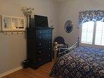 Queen bedroom TV