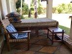 Shady cool verandah