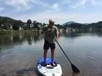 paddle boards available seasonally for additional fees