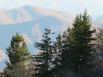 Blue Ridge Parkway- a short drive from the house