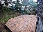 Large lower back deck