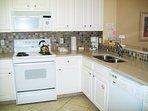 Kitchen Gulf Dunes 612 Fort Walton Beach Okaloosa Island Vacation Rentals