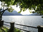 Lake view from garden