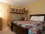 Guest Bedroom Twin Bunk + Queen