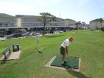 SkyRun Property - 'Cajun Fun 1060' - Practice your Gollf - Great Par 3 course for Fun with family and Friends!