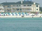 Beautiful beach area! - This condo complex has a wonderful beach!