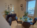 Dining Area at the Seagrove! - Have fun visiting and dining with family and friends on 30a at Seagrove Highlands!