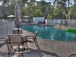 Big Pool with Bathrooms - Beautiful pool on the lake for a cool dip after a long bike ride down 30A