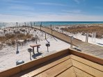 Private Beach Walkways! - Sandpiper Cove has lots of beach walkways to get to the beach from different parts of the ...