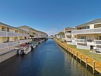 Resort on the Water! - Sandpiper Cove Resort is surrounded by water from different angles!