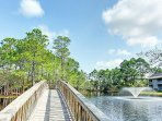 Walking Paths - Wonderful bridges and walkways are so scenic all throughout the property.