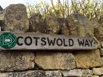 The Cotswold Way footpath