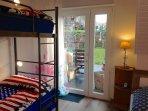 Schlafzimmer Direkter Gartenzugang
