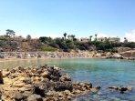 Malama Beach in a walking distance from resort