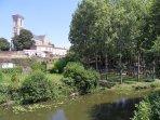 il fiume e la chiesa