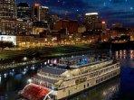General Jackson Showboat on Cumberland River in Nashville